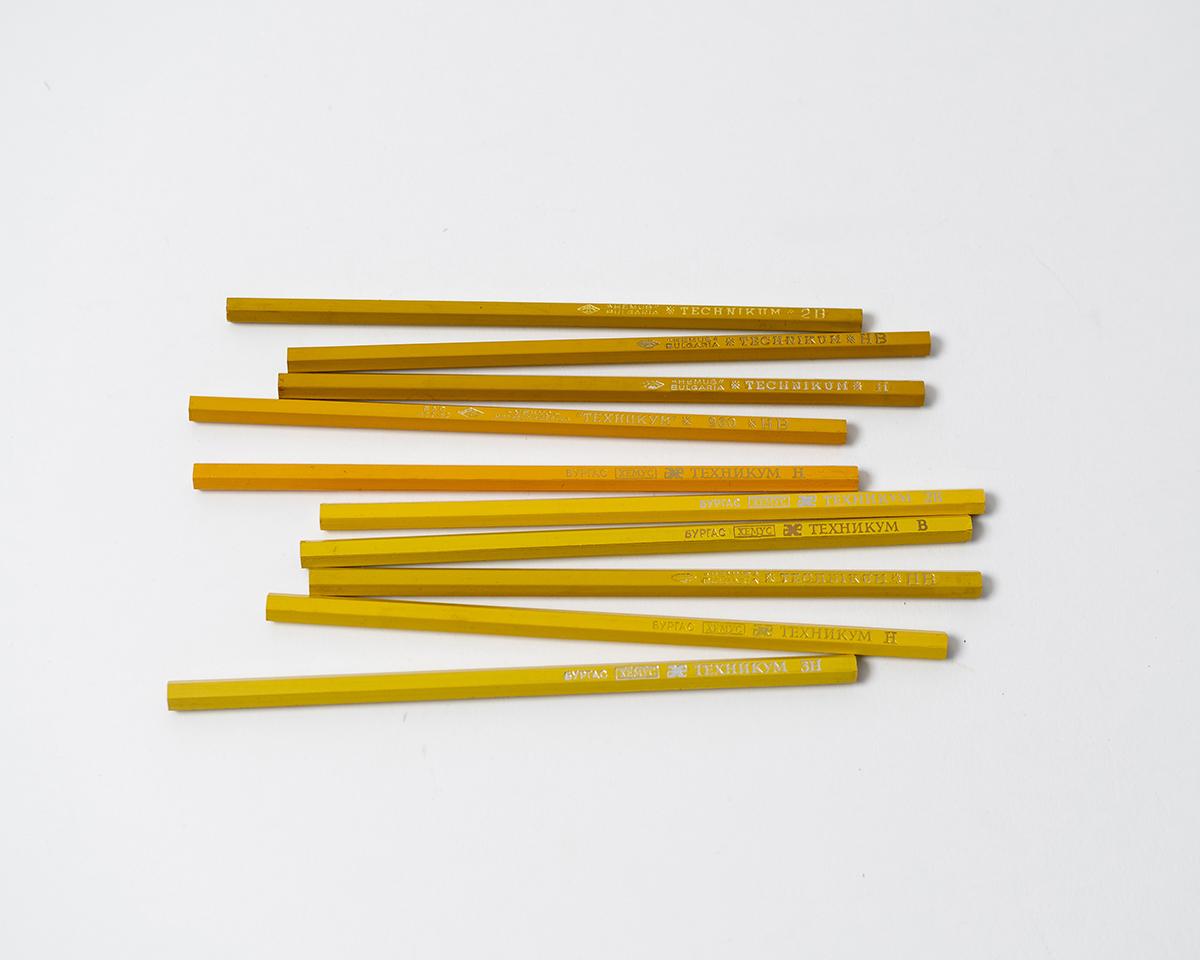 RAD AND HUNGRY: Vintage Hemus Tehnikum Pencils 2