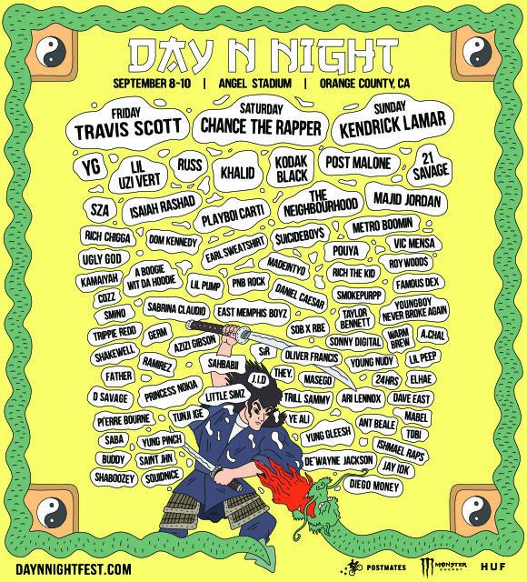 Day N Night Festival at Angel Stadium
