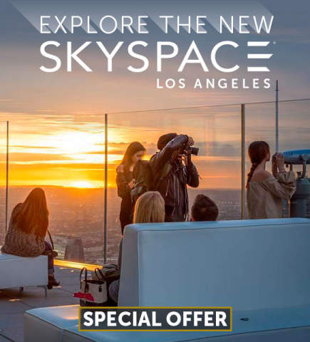 Explore the new Skyspace Los Angeles