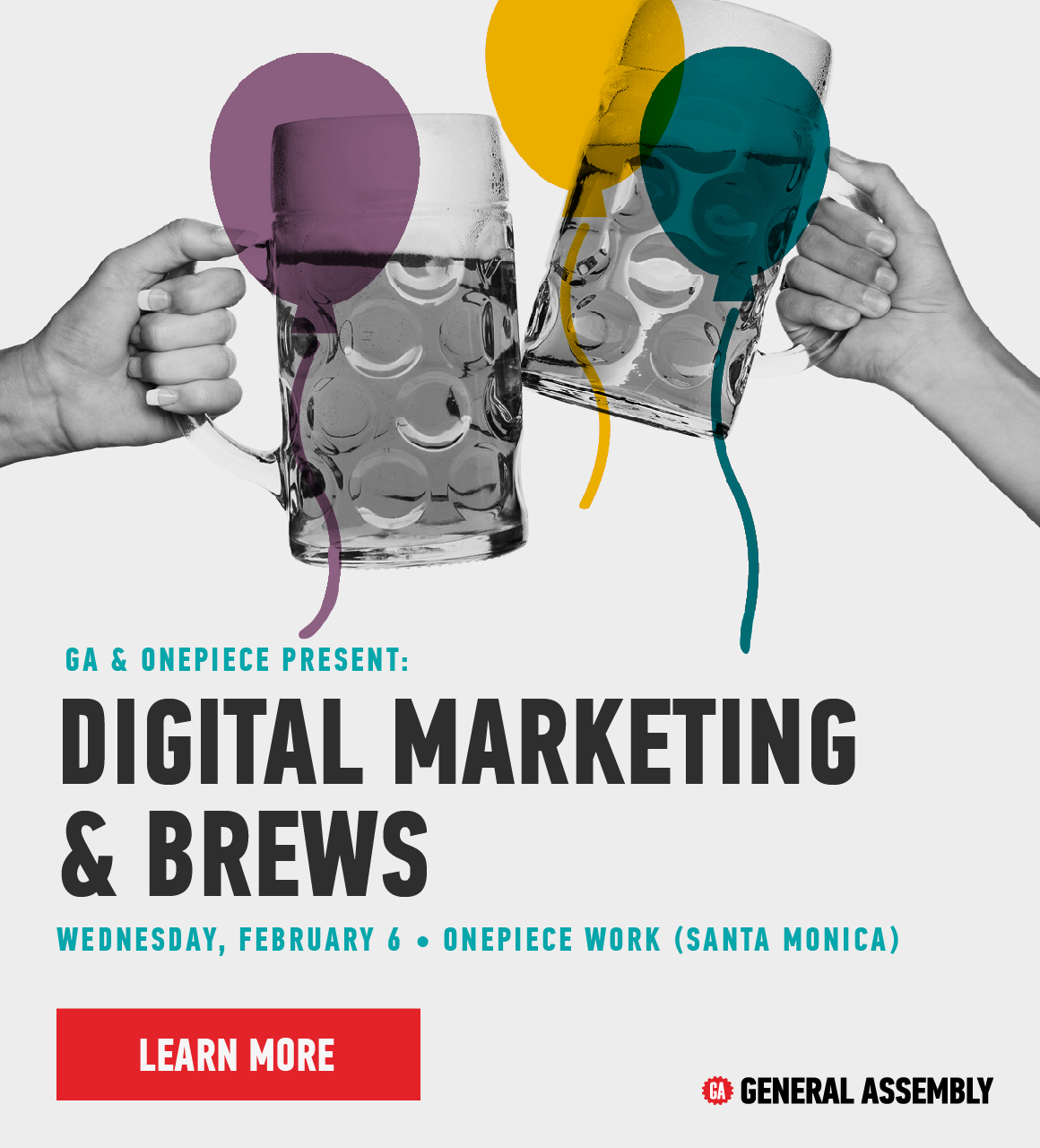 Digital Marketing and Brews at General Assembly