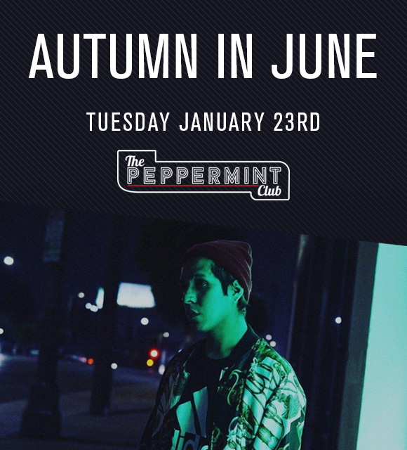 Autumn in June live at The Peppermint Club
