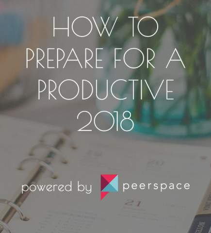 How to Prepare for a Productive 2018
