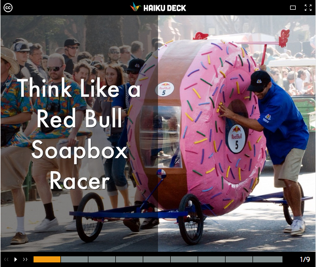 Think Like a Red Bull Soapbox Racer