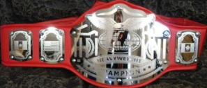 Lucha Lbre Logan Square Championship belt