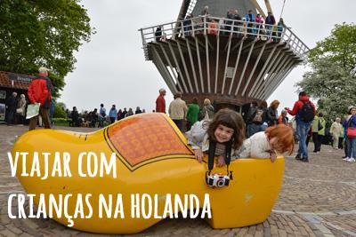 Viajar com crianças na Holanda