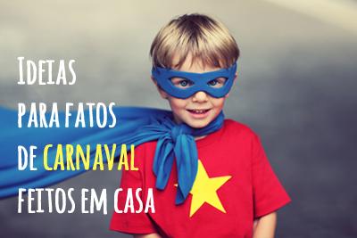 Ideias para fatos de Carnaval feitos em casa