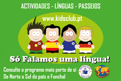 Cursos de Verão da Fun Languages- The Kids Club