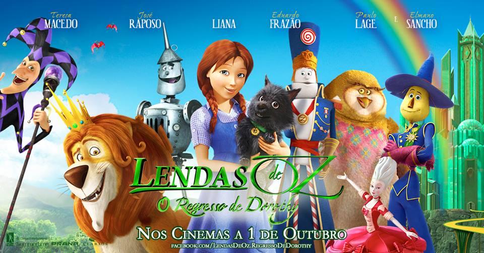 Filme 'Lendas de Oz: o regresso de Dorothy'