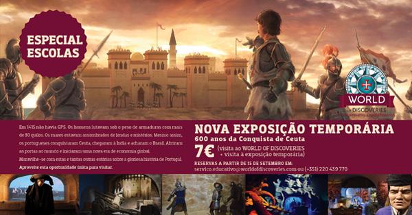 O World of Discoveries estreia nova exposição temporária: 600 anos da Conquista de Ceuta