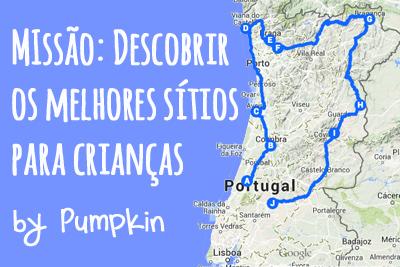 Viagem em família Norte de Portugal