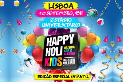 Happy Holi Kids – O Festival das Cores para Crianças  10 de Setembro | Lisboa