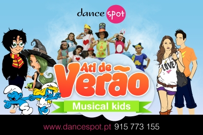 Férias Musical Kids na Dancespot