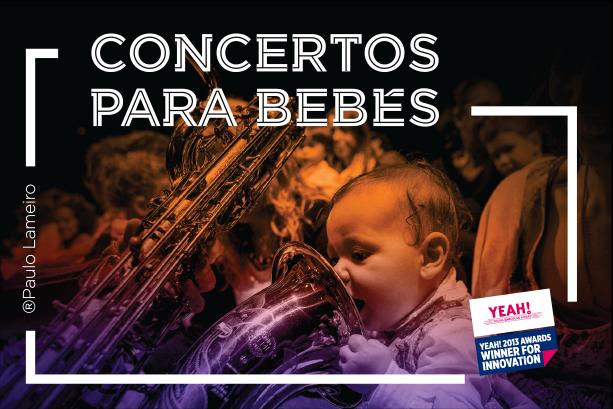 Concertos para Bebés no Centro Cultural Olga Cadaval  18 de Setembro | Lisboa