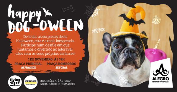 O Alegro Preparou um Halloween Cãotástico!  29 de Outubro a 1 de Novembro | Amadora