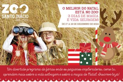 O Melhor do Natal está no Zoo de Santo Inácio