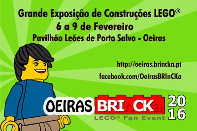 Famílias, o Oeiras BRInCKa, LEGO® Fan Event está de volta!