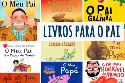 Livros para o dia do Pai