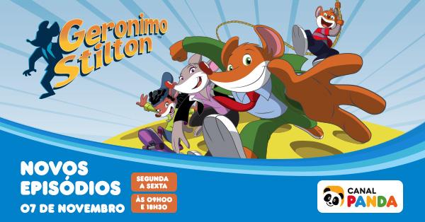 Geronimo Stilton - Novos episódios