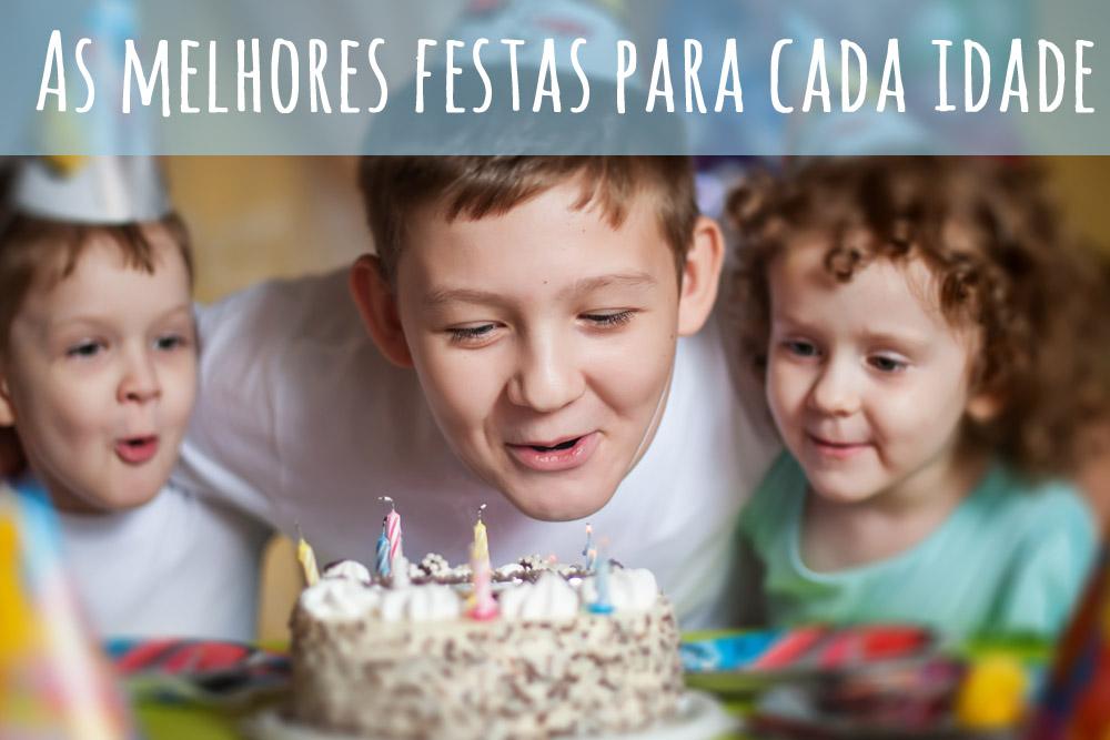 Festas de aniversário - as melhores festas para cada idade