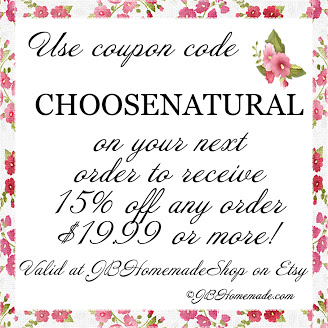 Use Code CHOOSENATURAL