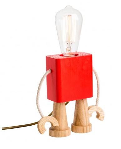 Red Robo Lamp
