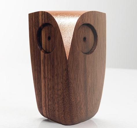 Copper Walnut Owl