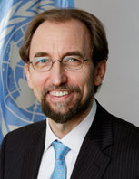 Photo - High Commissioner Zeid