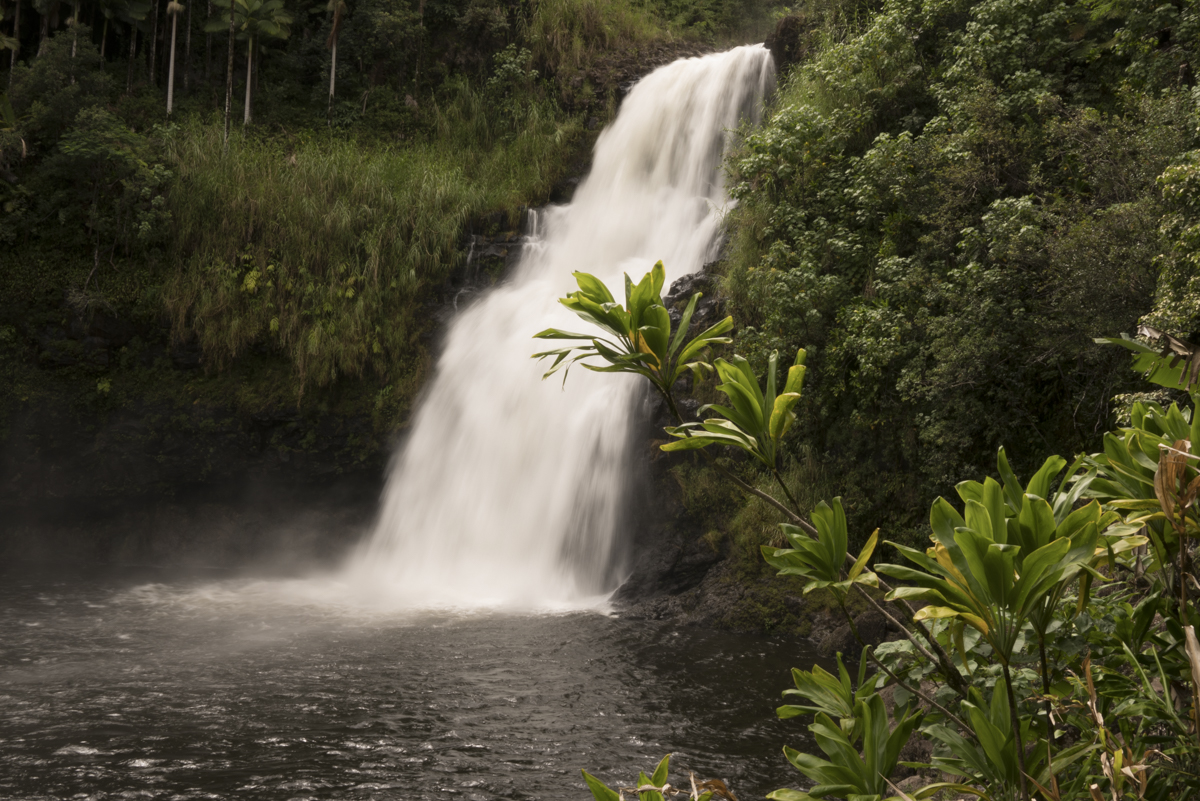 Hawaii Kulaniapia Falls Craig Parry
