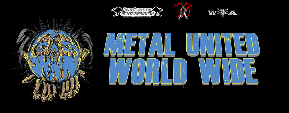 Metal United World Wide Banner