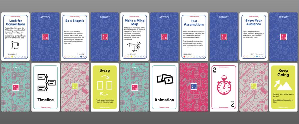 Journalism + Design Card Deck