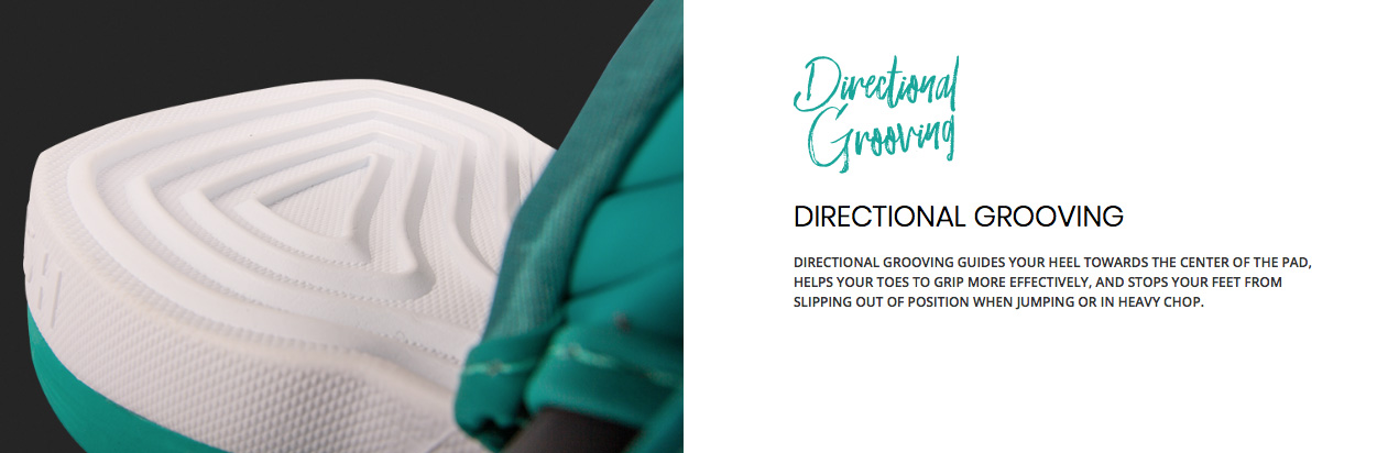 DIRECTIONAL GROOVING