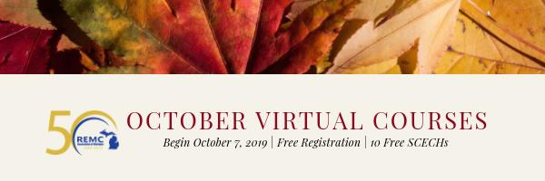2019 October Virtual Courses