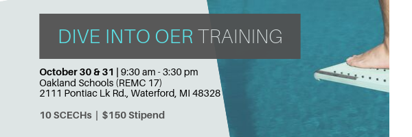 Dive into OER Training