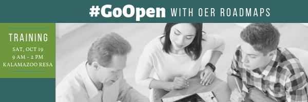 #GoOpen with OER Roadmaps