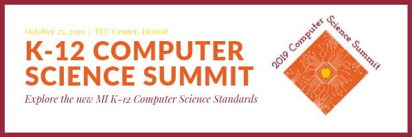 K-12 Computer Science Summit, October 25