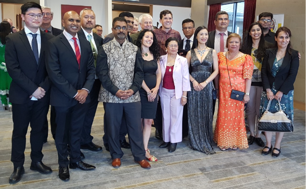 Group photo 2 Regional Wellington Mayor Reception 2017