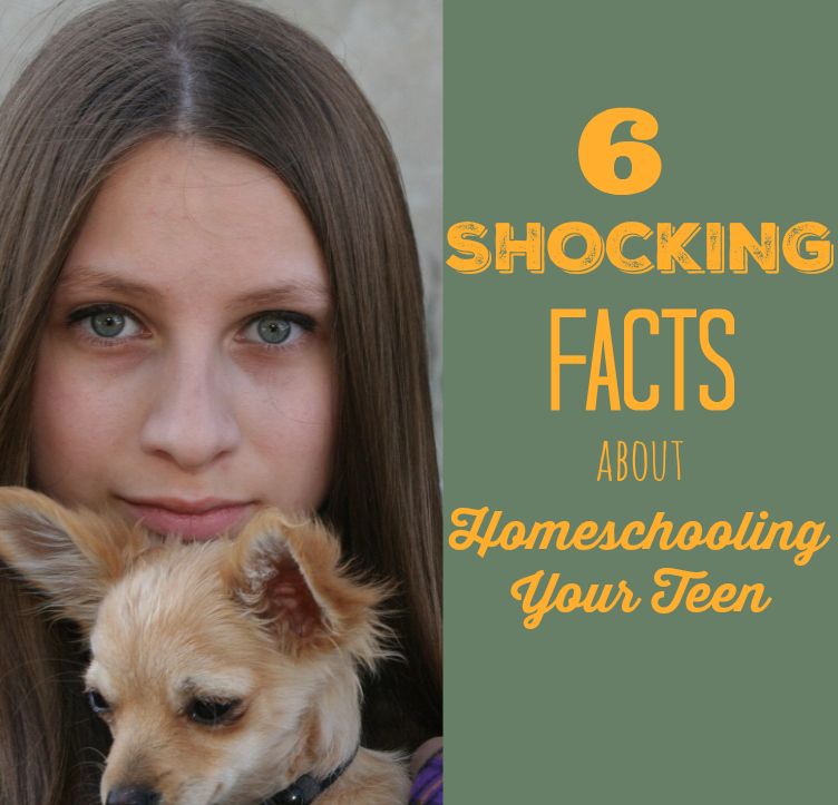 6 Shocking Facts about Homeschooling Your Teen