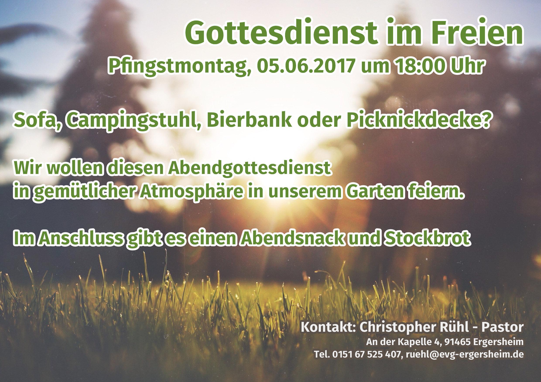 Pfingstmontagsgottesdienst 2017