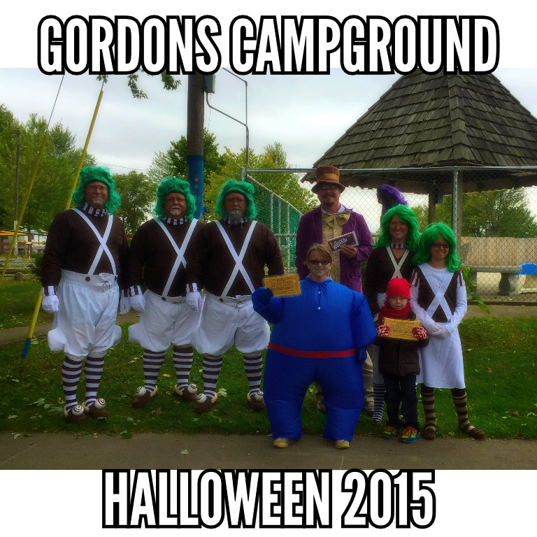 Gordons Campground Halloween 2015