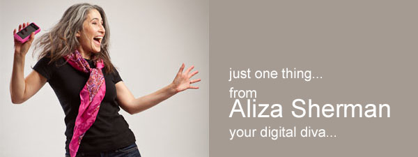 Aliza Sherman...your digital diva