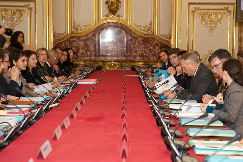 Comité Interministériel aux Droits des Femmes du 30 Novembre 2012