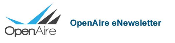 OpenAire eNewsletter