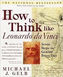 How to Think Like Da Vinci book cover