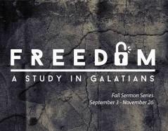 Freedom: Galatians Study Series