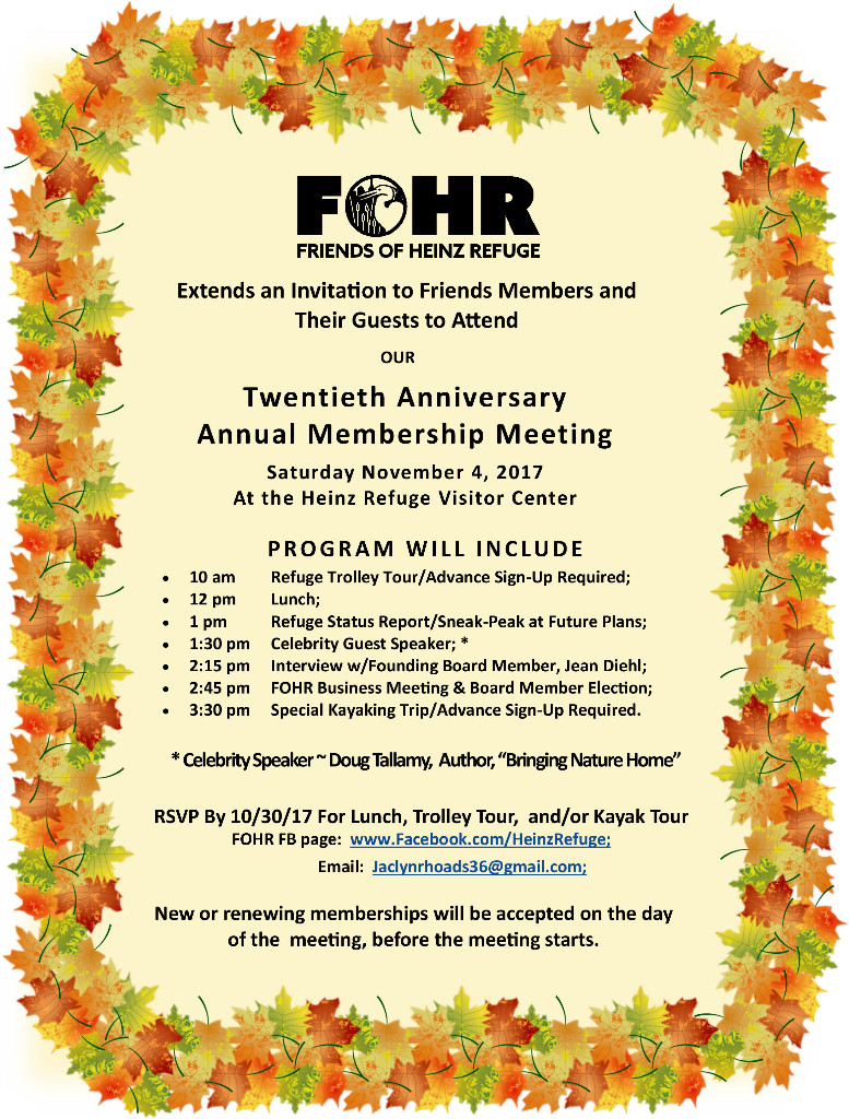 20th Anniversary Annual Members Meeting
