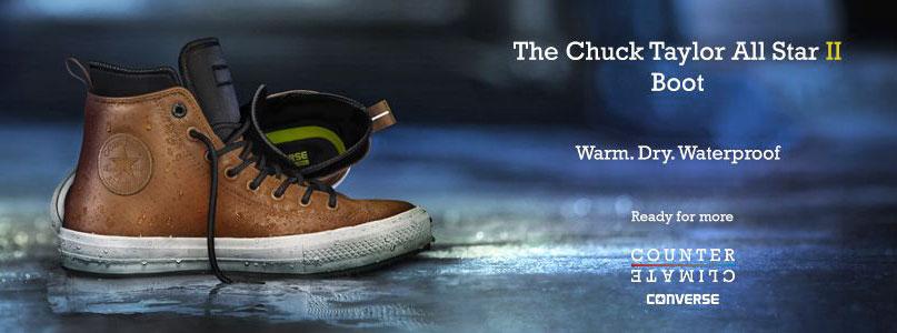Converse Boot - nepremokavé, zimné, zateplené