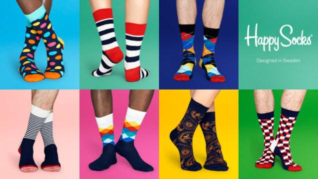 Vyberte si Happy socks - parádne farby!