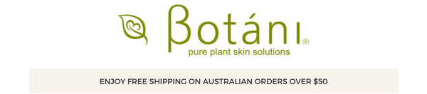 Welcome To Botani Natural Skin Care Products Australia