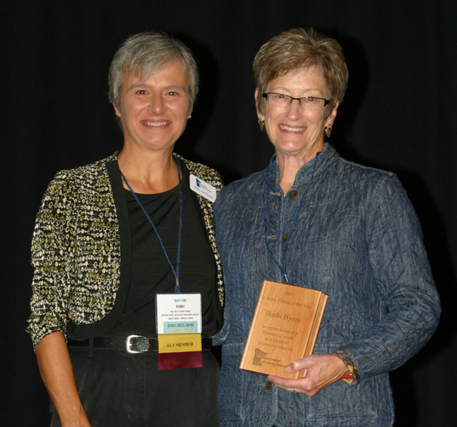 Mary Ann Bernat & Barbi Byers