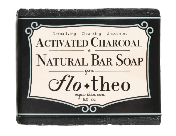 FLO + THEO Activated Charcoal Soap available on shopodestudio.com